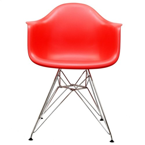 Paris Dining Armchair in Red