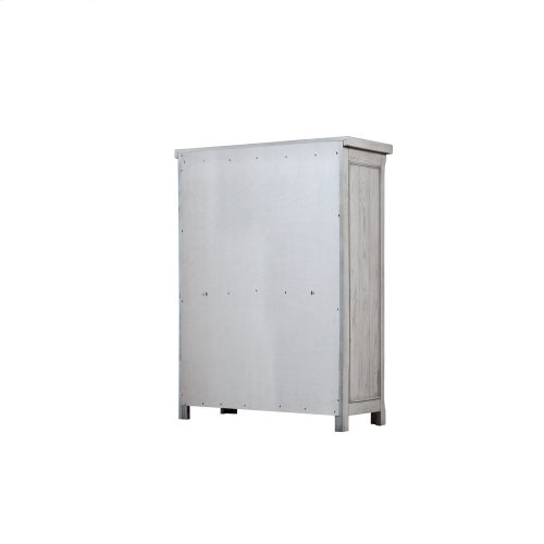 Emerald Home B527-05 Warwick II Dresser, Light Gray