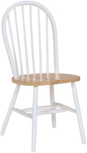 Windsor Chair White & Natural