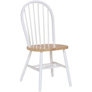 JOHN THOMAS FURNITUREWindsor Chair Natural & White