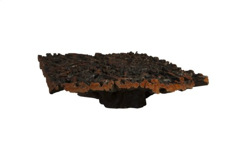 Lychee Root Coffee Table, Square