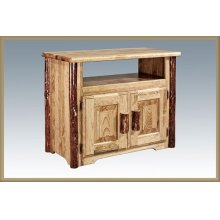 Glacier Country Log Utility Cabinet