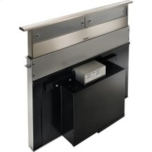"30"" Stainless Steel Downdraft Built-In Range Hood with External Blower Options"