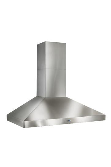 "BestColonne - 36"" Stainless Steel Chimney Range Hood With Iq6 Blower System, 600 Cfm"