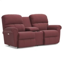 Briggs PowerRecline La-Z-Time® Full Reclining Loveseat w/ Console
