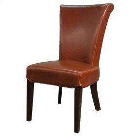 Bentley BONDED Leather Chair, Cognac