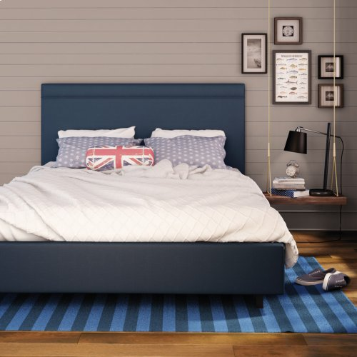 Breeze Upholstered Bed (self Welt) - Queen