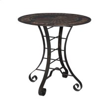 36-Inch Metal Bistro Table