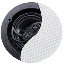 """RSF-610T 6.5"""" 2-Way Single Point Stereo Ceiling Speaker with Designer Edgeless Bezel Grille"""