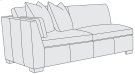 Ellington Left Arm Loveseat Product Image