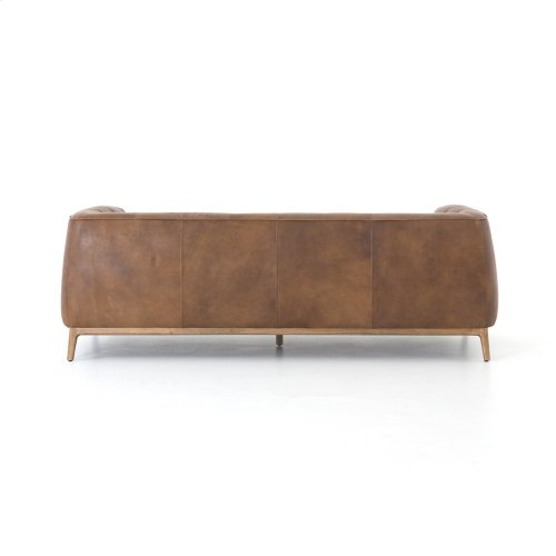 """Destroyed Raw Cover Remington 90"""" Sofa"""
