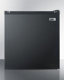 Compact Auto Defrost All-refrigerator In Black