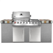 Built-in Grills BIPF450 Prestige V Series Built-in- NG STAINLESS
