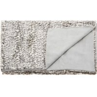 "Fur N9450 Ivory/grey 50"" X 70"" Throw Blankets Product Image"
