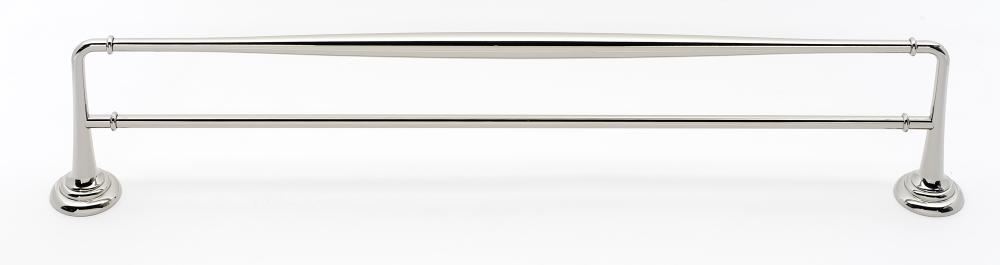 Charlie's Collection Double Towel Bar A6725-24 - Polished Nickel