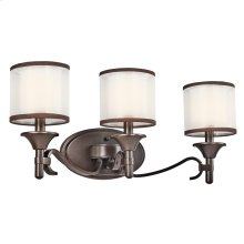 Lacey Collection Lacey 3 Light Bath Light - Mission Bronze