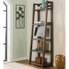 Perspectives - Leaning Bookcase - Brushed Acacia Finish Product Image