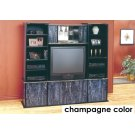 TV STAND - CHAMPAGNE / BRASS WALL UNIT Product Image