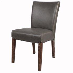 Beverly Hills Bonded Leather Drift Wood Legs, Vintage Gray
