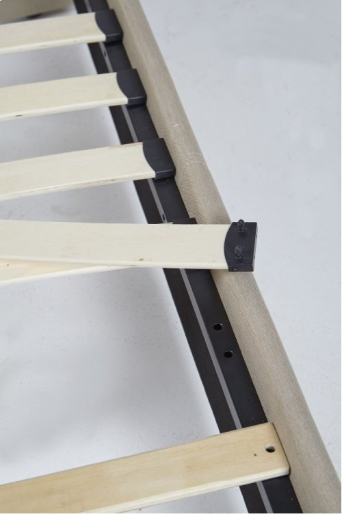 Brantford Platform Bed - King, Charcoal