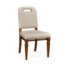 Contemporary Camden Dining Side Chair, Upholstered in MAZO