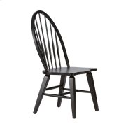 Windsor Back Side Chair - Black Product Image