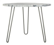 Mindy Wood Top Dining Table - Grey / Whitewash