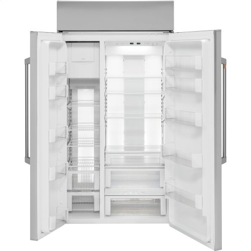 "Café 42"" Built-In Side-by-Side Refrigerator"