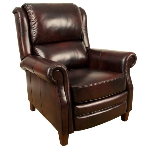 Camelot Earth Manual Pushback High Leg Recliner