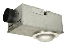 Recessed 70 CFM Ventilator/75W Light