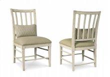 Echo Park Slat Back Side Chair - Aged Canvas