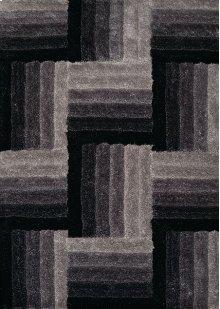 Finesse Flagstone Black Rugs