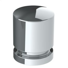 "Transitional Cabinet Knob 3/4"" X 1/2"""