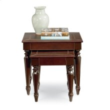 Saratoga Leather Nesting Tables