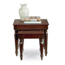 Saratoga Leather Nesting Tables