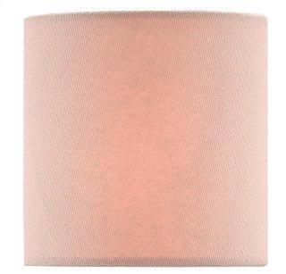 Pink Blush Cotton Shade - 4 x 4 x 4