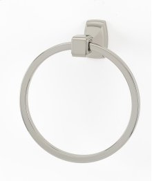 Cube Towel Ring A6540 - Satin Nickel