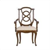 Arrondissement - Tuileries Arm Chair In Heirloom Cherry