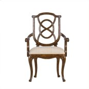 Arrondissement - Tuileries Arm Chair In Heirloom Cherry