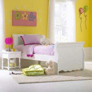 Hillsdale FurnitureLauren Twin Sleigh Bed Set