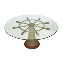 Captains Wheel Cocktail Table