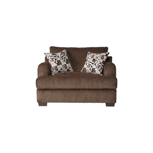 14100 Cuddle Chair Bronco Sable