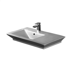 "Opulence 31-1/2"" Above Counter Basin - ""His"" - White"