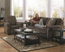 Press Back Recliner - Charcoal