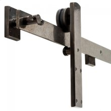 BARN DOOR TRACK Silicon Bronze Brushed