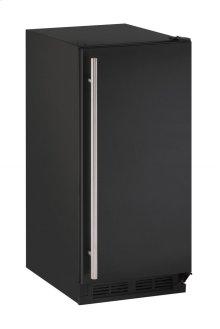 "1000 Series 15"" Solid Door Refrigerator With Black Solid Finish and Field Reversible Door Swing (115 Volts / 60 Hz)"