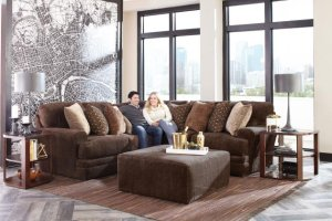Mammoth Sectional with Ottoman