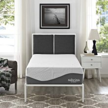 "Sabrina 12"" Twin Natural Latex and Gel Memory Foam Mattress"