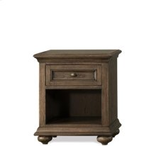 Cassidy One Drawer Nightstand Aged Cask finish
