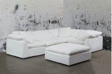 Sunset Trading Cloud Puff Slipcovered 5 Piece Modular Sectional Sofa - 391081